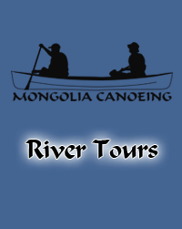 Canoeing in Mongolia